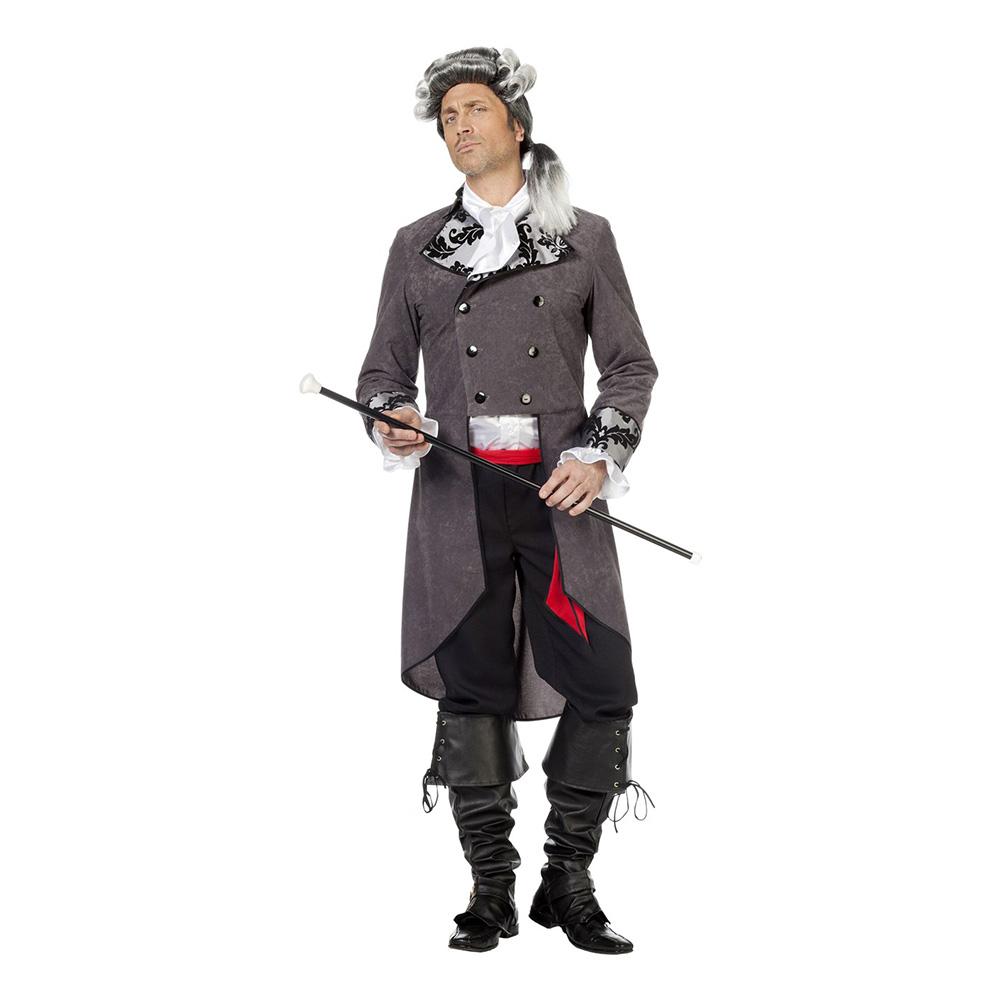 Pirat Elegant Maskeraddräkt - Medium