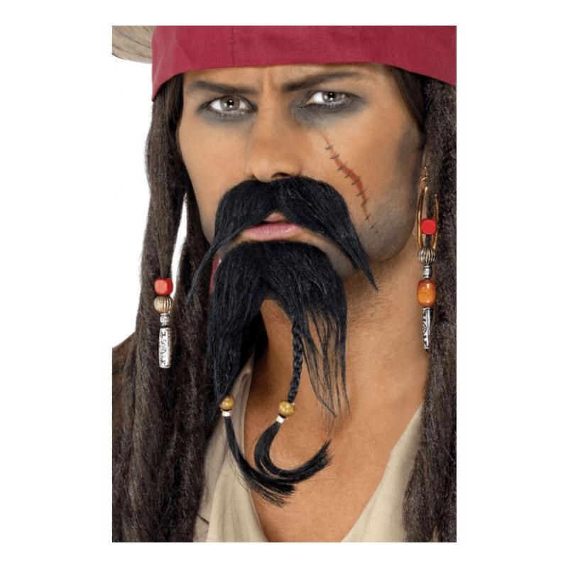 Piratskägg med Mustasch thumbnail