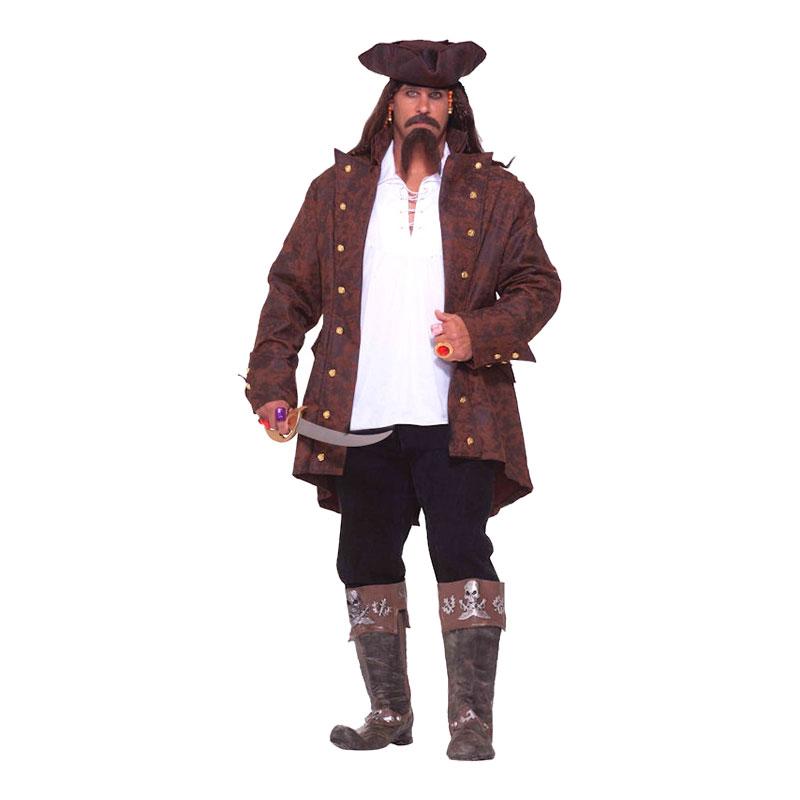 Piratkapten Plus-size Maskeraddräkt - Plus size
