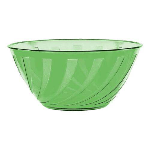 Plastskål Limegrön Swirl - 4,7 liter