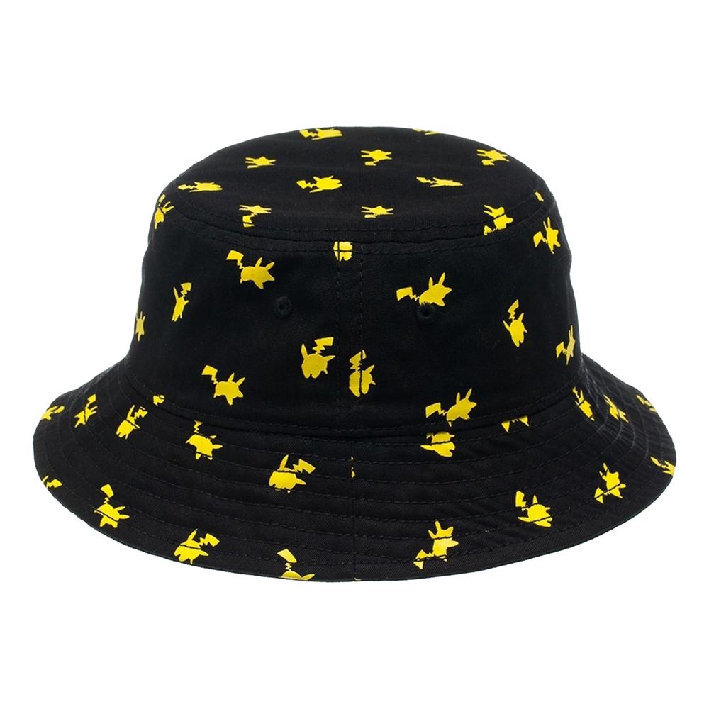 Pokemon Pikachu Svart Regnhatt - One size