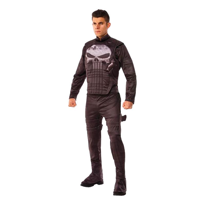 Punisher Deluxe Maskeraddräkt - Standard