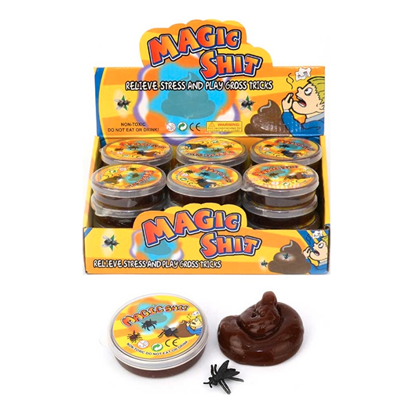 Putty Magic Shit med Fluga