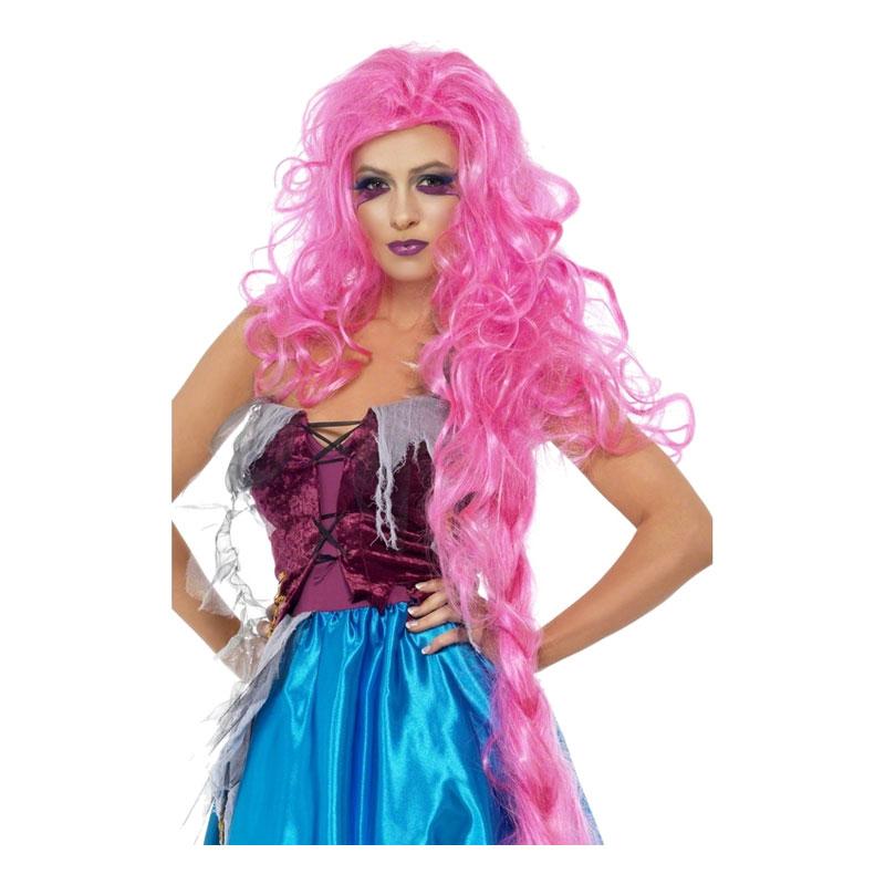 Rapunzel Halloween Peruk - One size