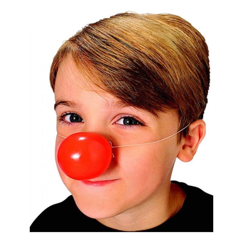 Clownnäsa i Plast