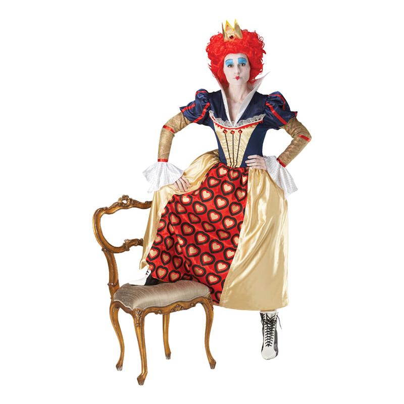 Red Queen Maskeraddräkt - Small