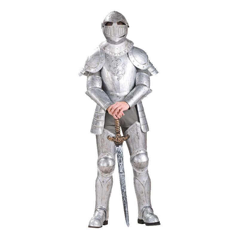 Riddare i Rustning Maskeraddräkt - One size