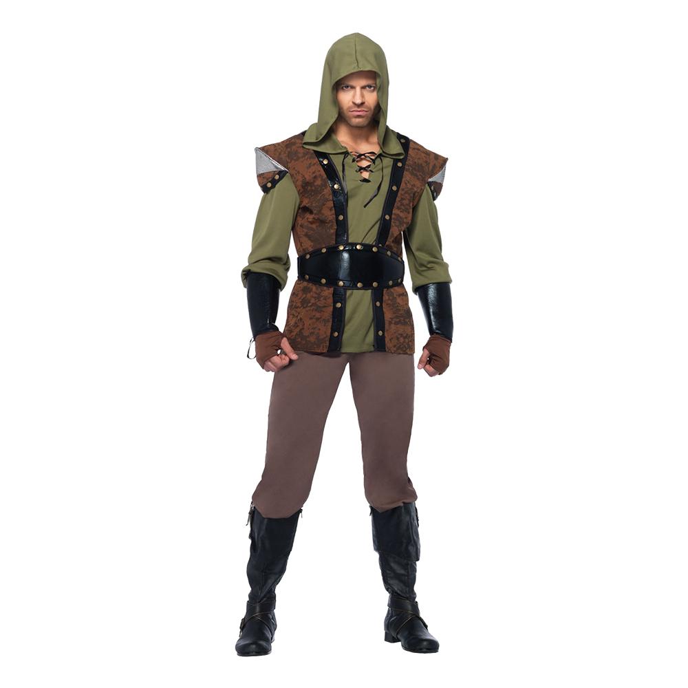 Robin Hood Deluxe Maskeraddräkt - X-Large