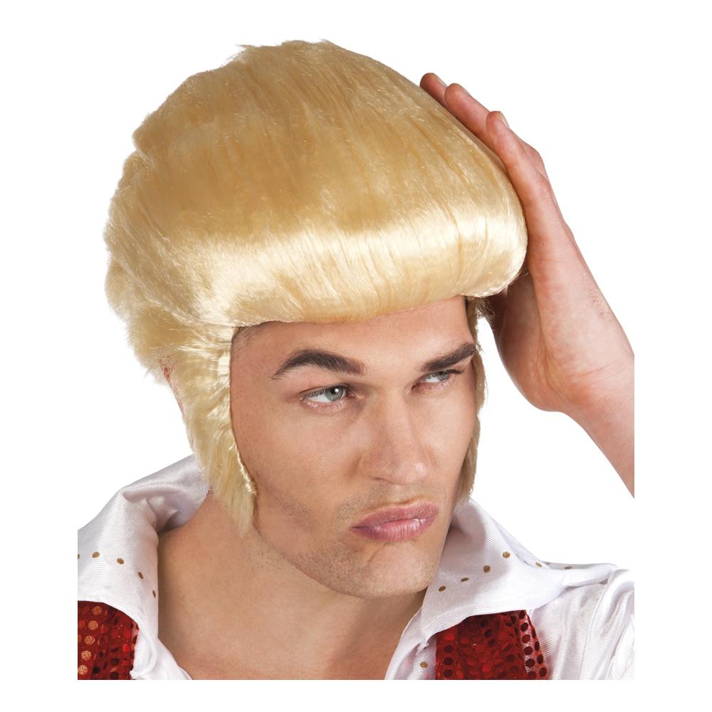 Rock 'n Roll Blond Peruk - One size