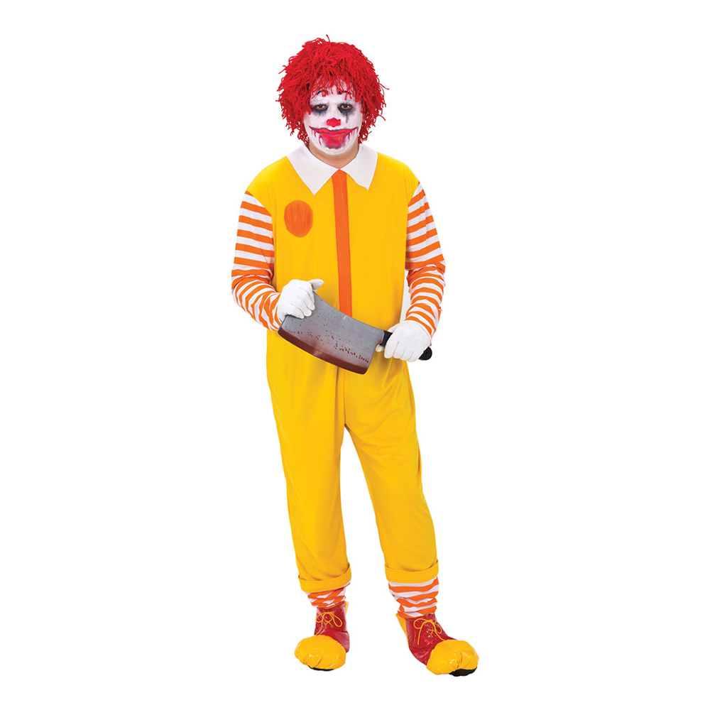 Happy Clown Maskeraddräkt - One size