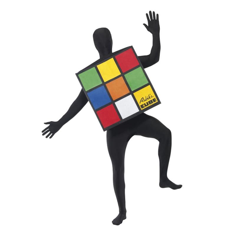 Rubiks Kub Maskeraddräkt - One size