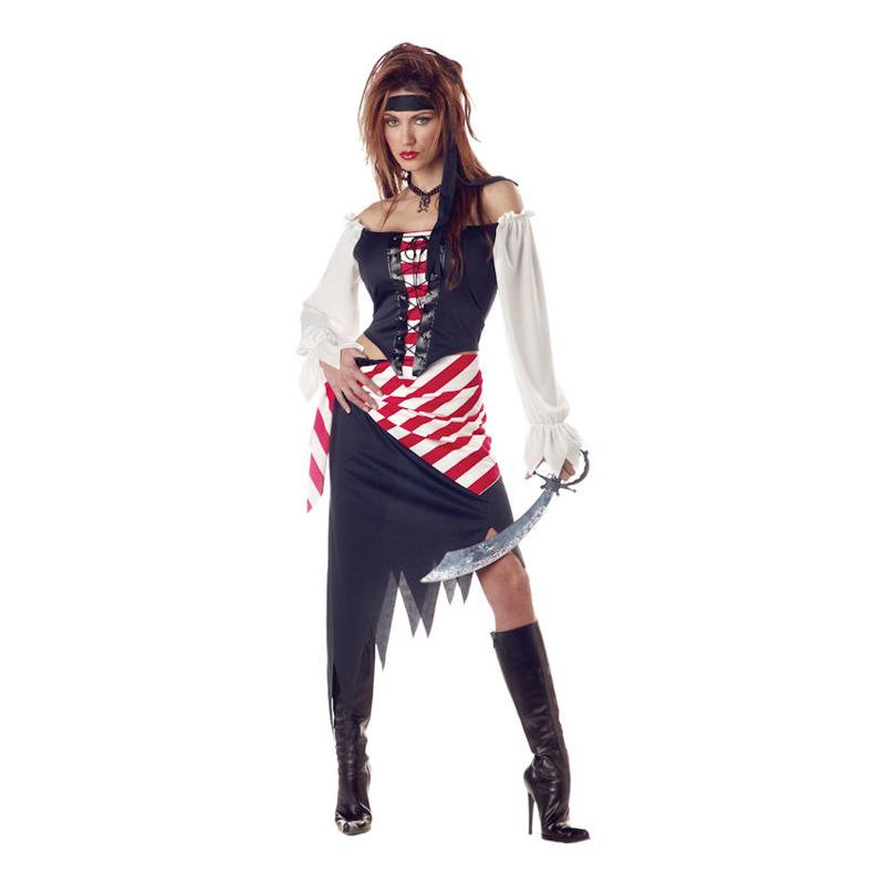 Ruby Den Vackra Piraten Maskeraddräkt - Small