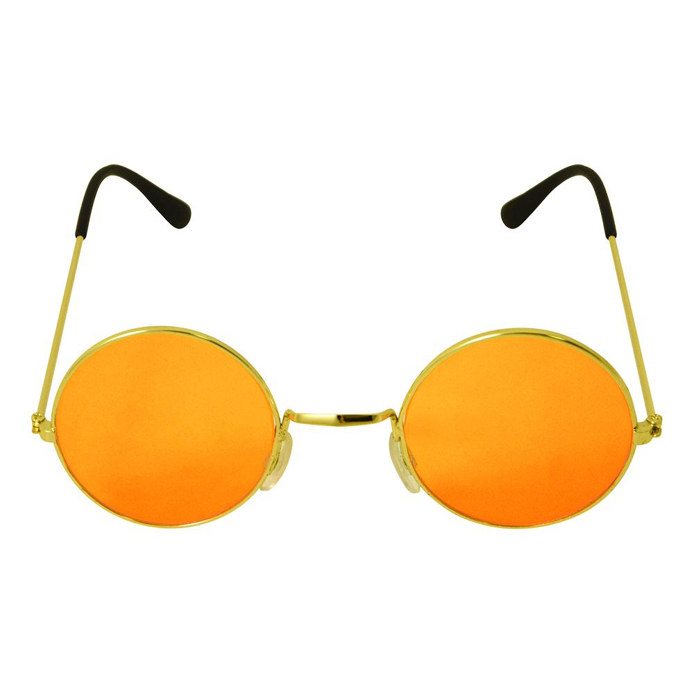 Runda Glasögon Orange