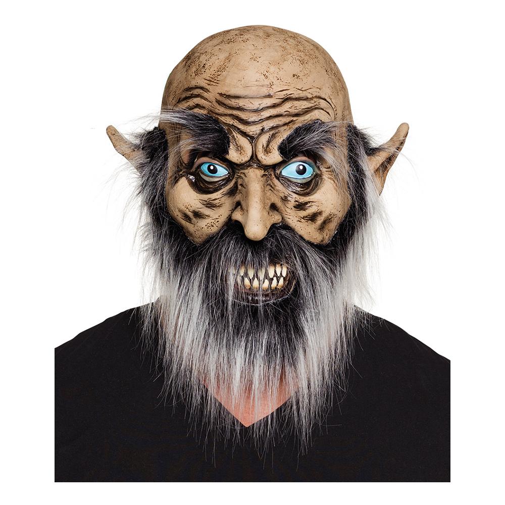 Rynkig Man Mask med Hår - One size