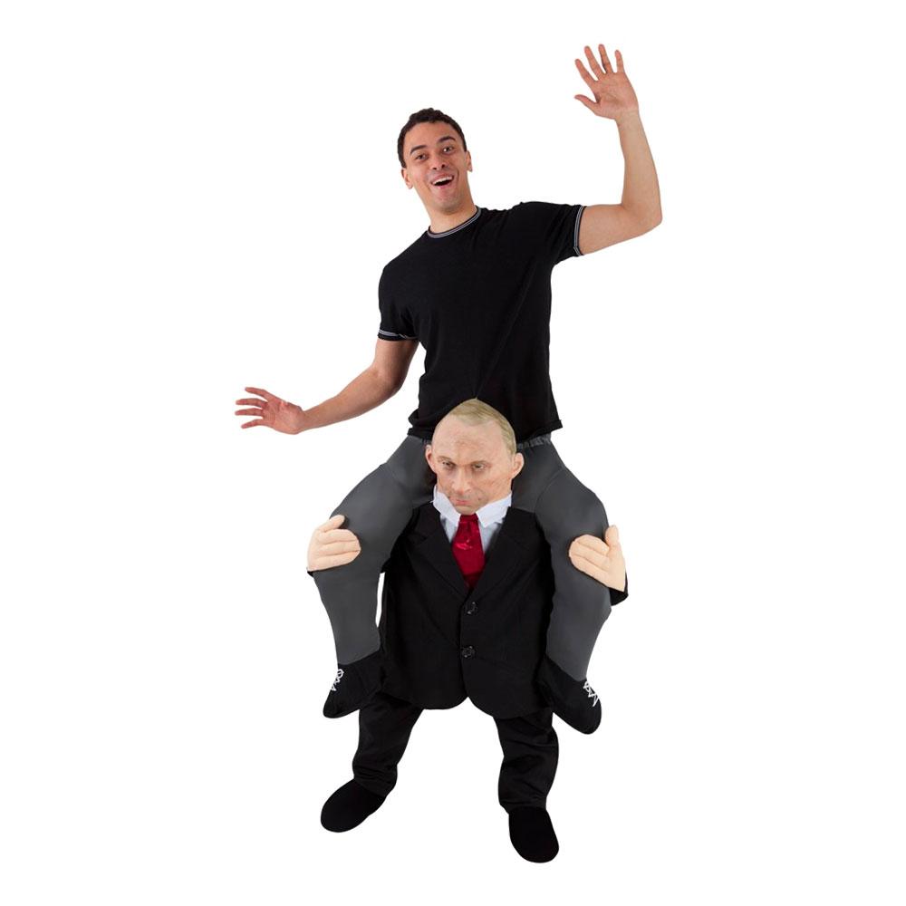 Rysk President Piggyback Maskeraddräkt - One size