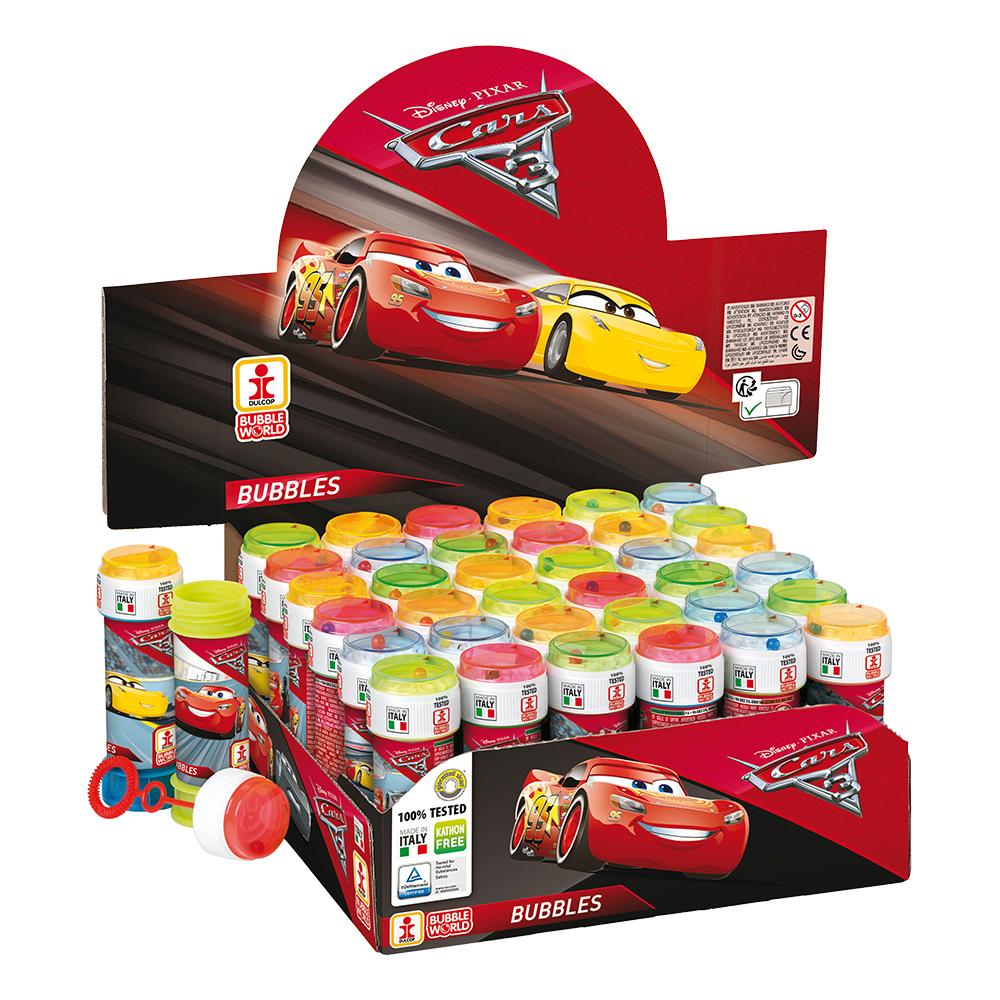 Såpbubblor Cars 3 - 36-pack