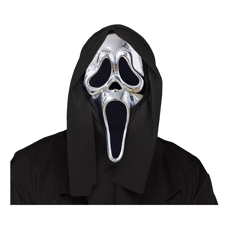 Scream Mask Silver - One size