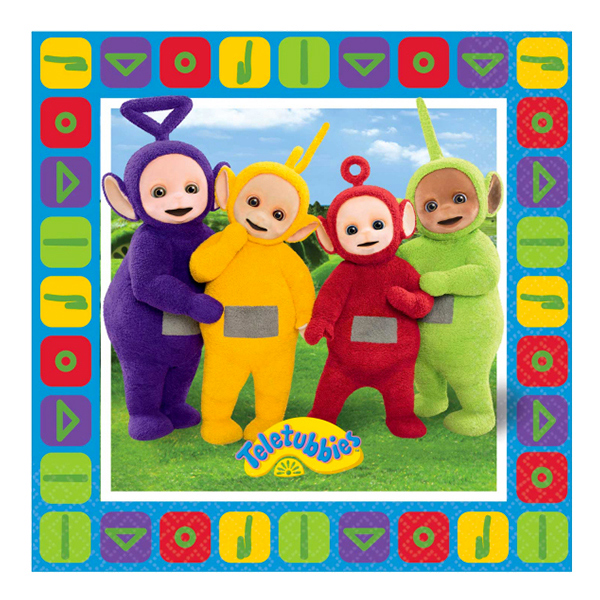 Servetter Teletubbies - 16-pack
