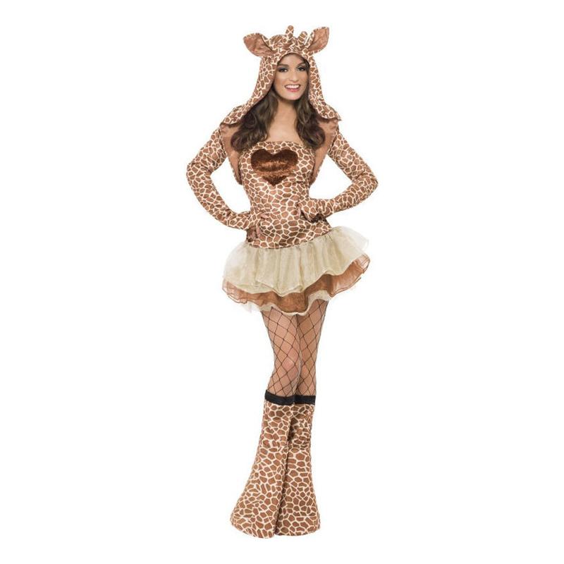Giraffklänning Maskeraddräkt - Small