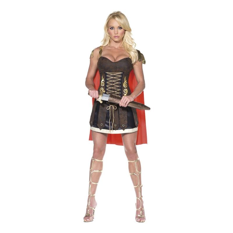 Gladiatorklänning Maskeraddräkt - Small