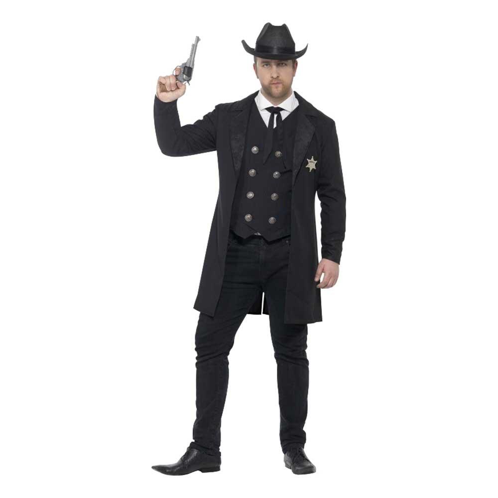 Sheriff Deluxe Maskeraddräkt - Large