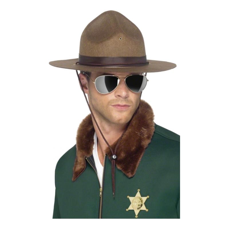 Sheriff Cowboyhatt - One size