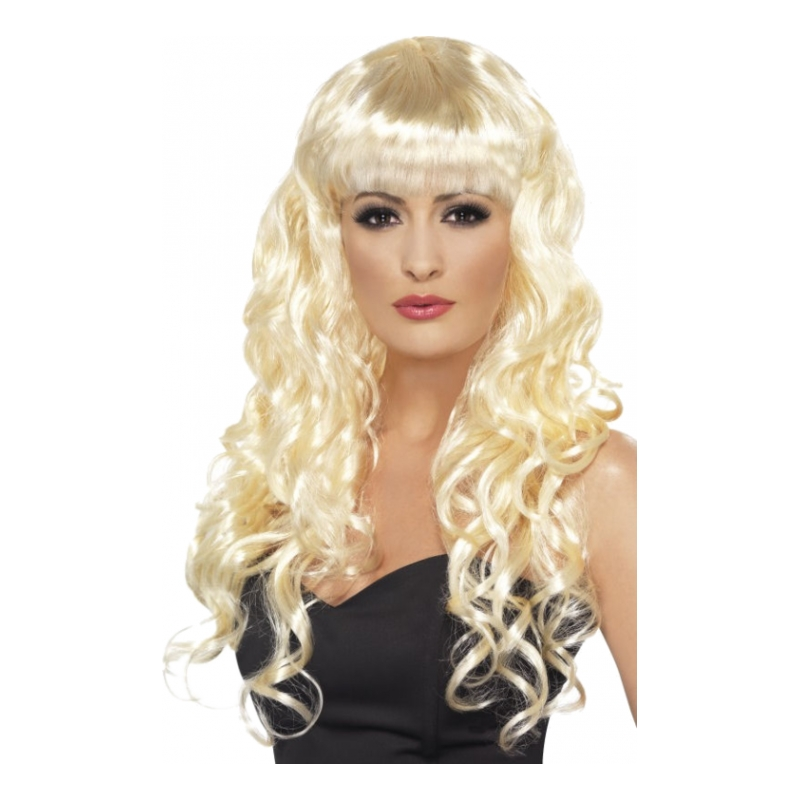 Siren Blond Peruk - One size