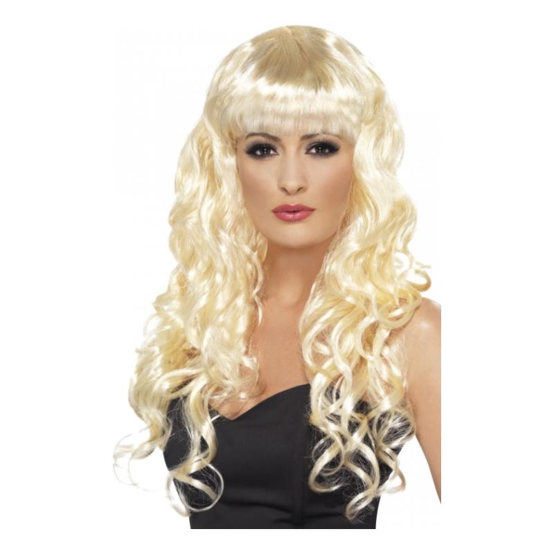 Siren Blond Peruk - One size
