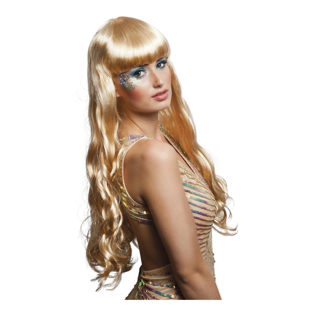 Sjöjungfru Blond Peruk - One size