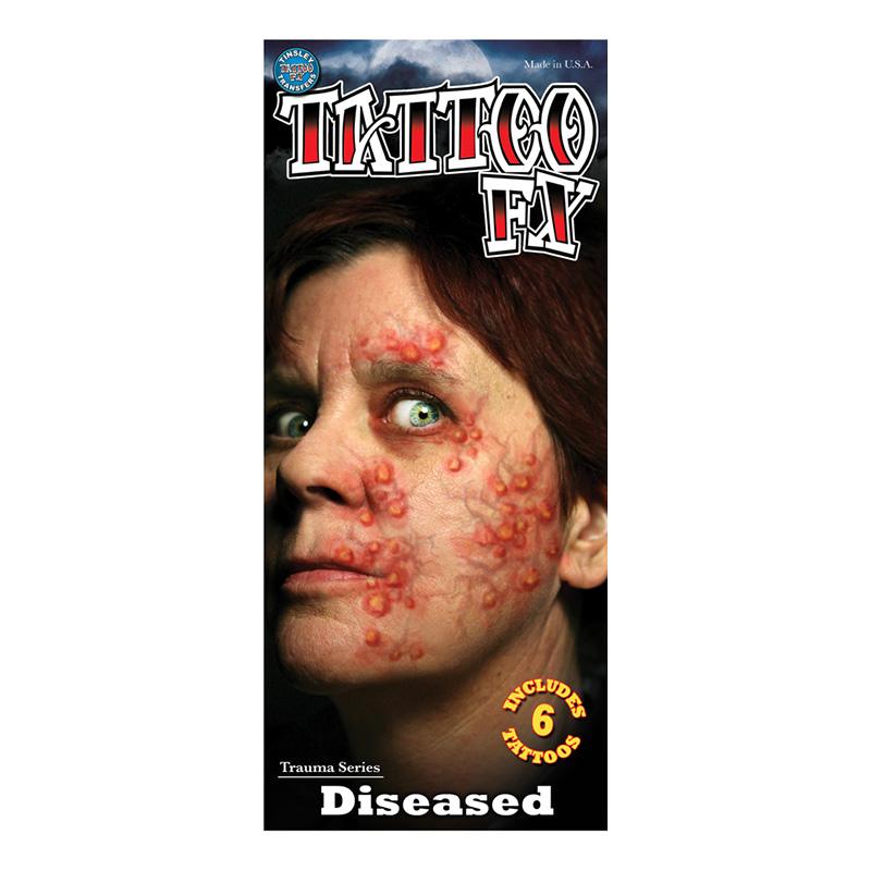 Sjukdom Tatuering FX - 12-pack