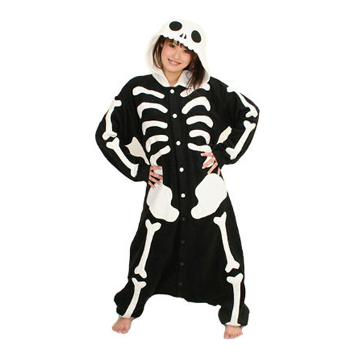 Skelett Kigurumi - Medium