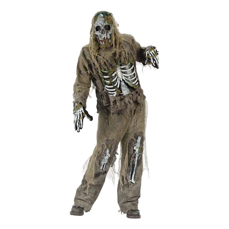 Skelett Zombie Maskeraddräkt - One size