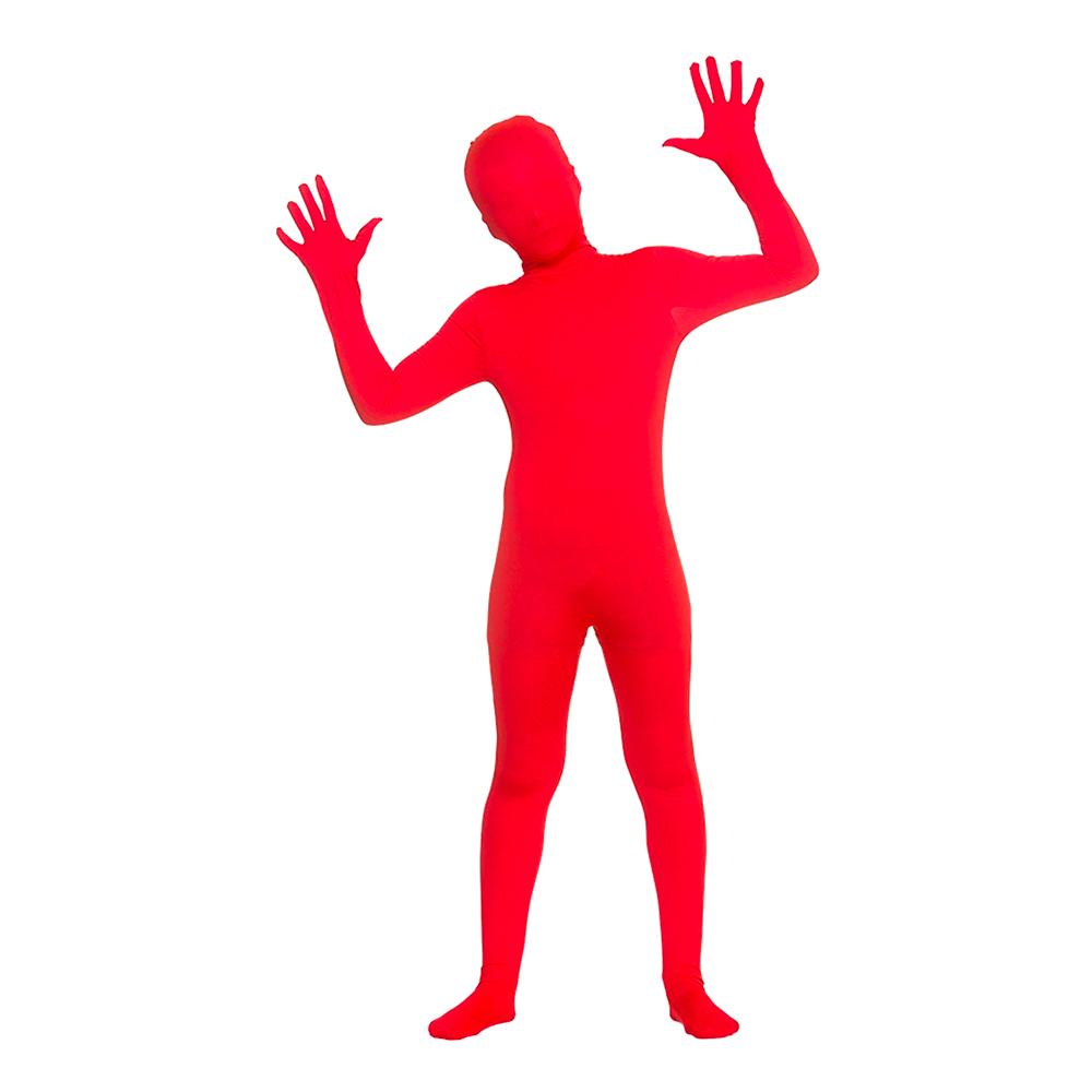 Skinz Röd Barn Maskeraddräkt - Large
