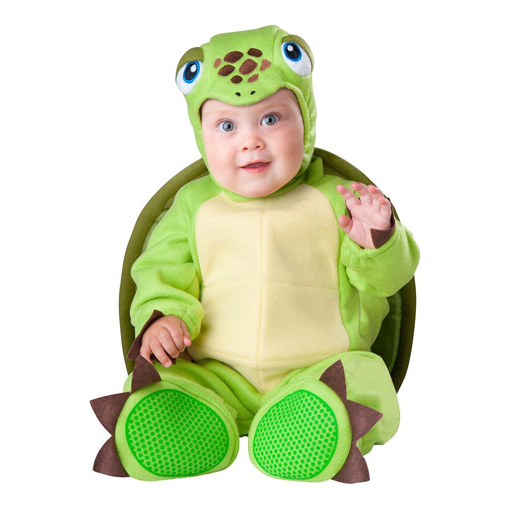 Maskeradkläder Vuxna - Sköldpadda Bebis  - Medium
