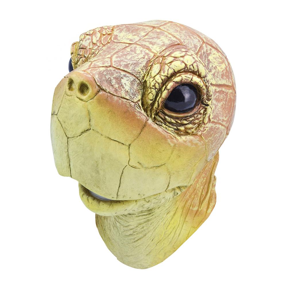 Sköldpaddmask i Gummi - One size