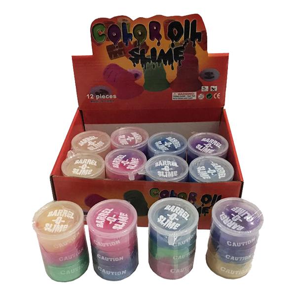 Slime i Burk Trefärgad - 1-pack