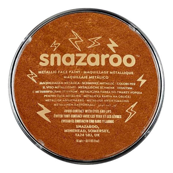 Snazaroo Ansiktsfärg Metallic - Koppar