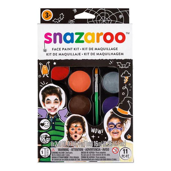 Snazaroo Ansiktsfärgsset Halloween