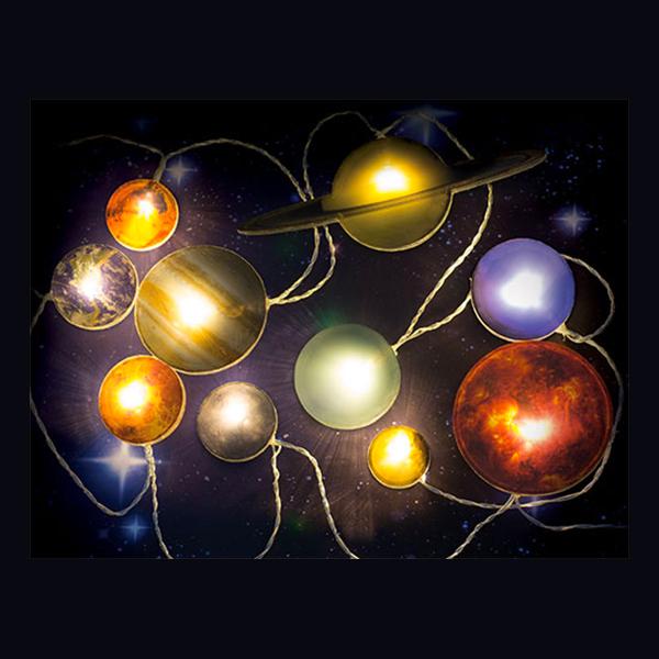 Solsystemet Ljusslinga