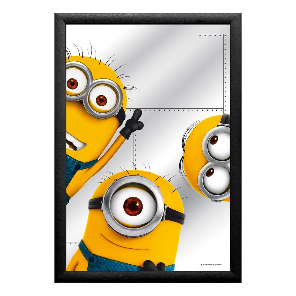Spegeltavla Minions