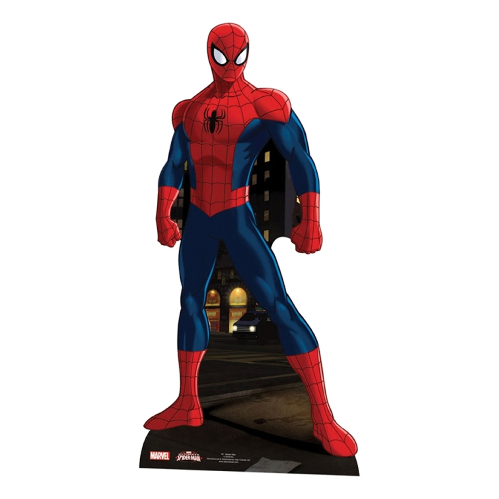 Spiderman Kartongfigur