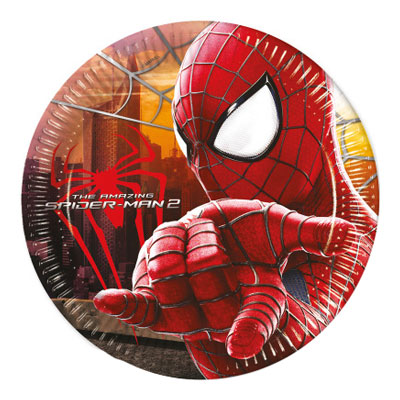 Spiderman Assietter - 8-pack