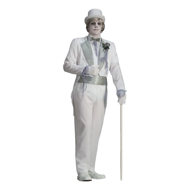 Spökbrudgum Maskeraddräkt - One size