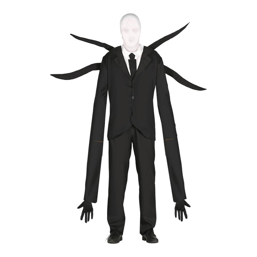 Ansiktslöst Monster med Tentakler Maskeraddräkt - Medium