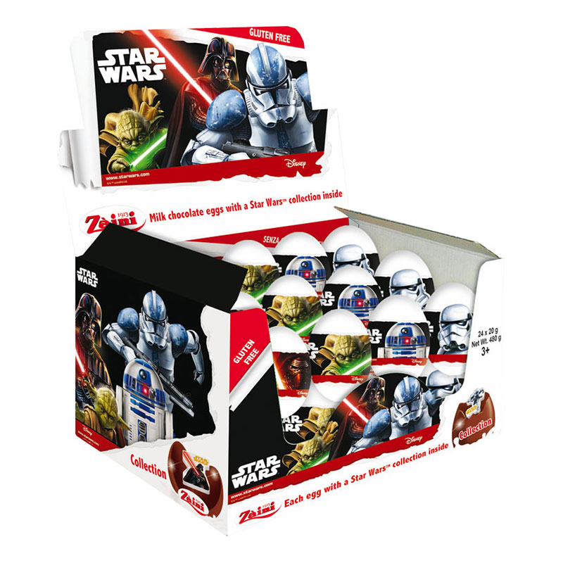 Star Wars Chokladägg - 24-pack