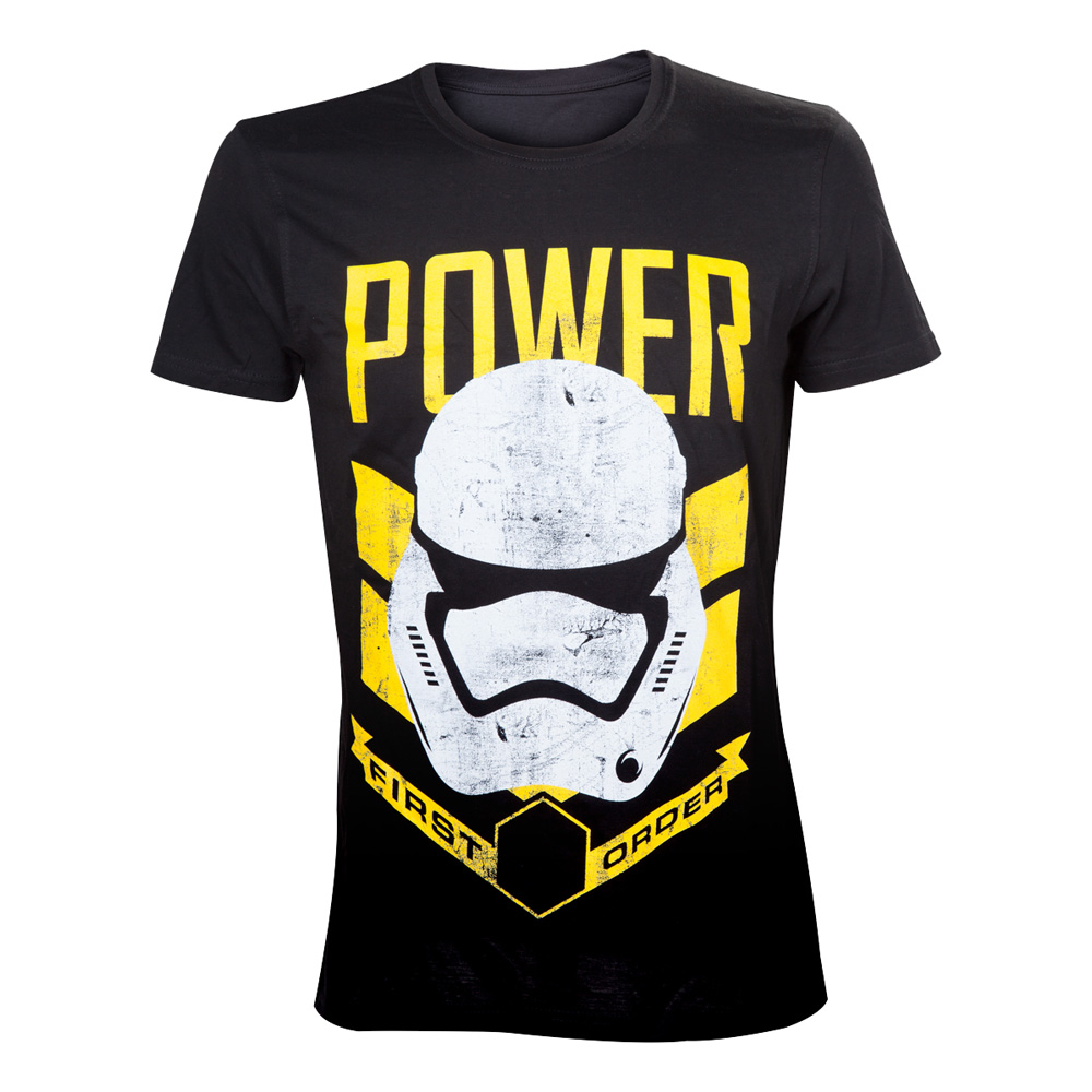 Star Wars Stormtrooper Power T-shirt - Small