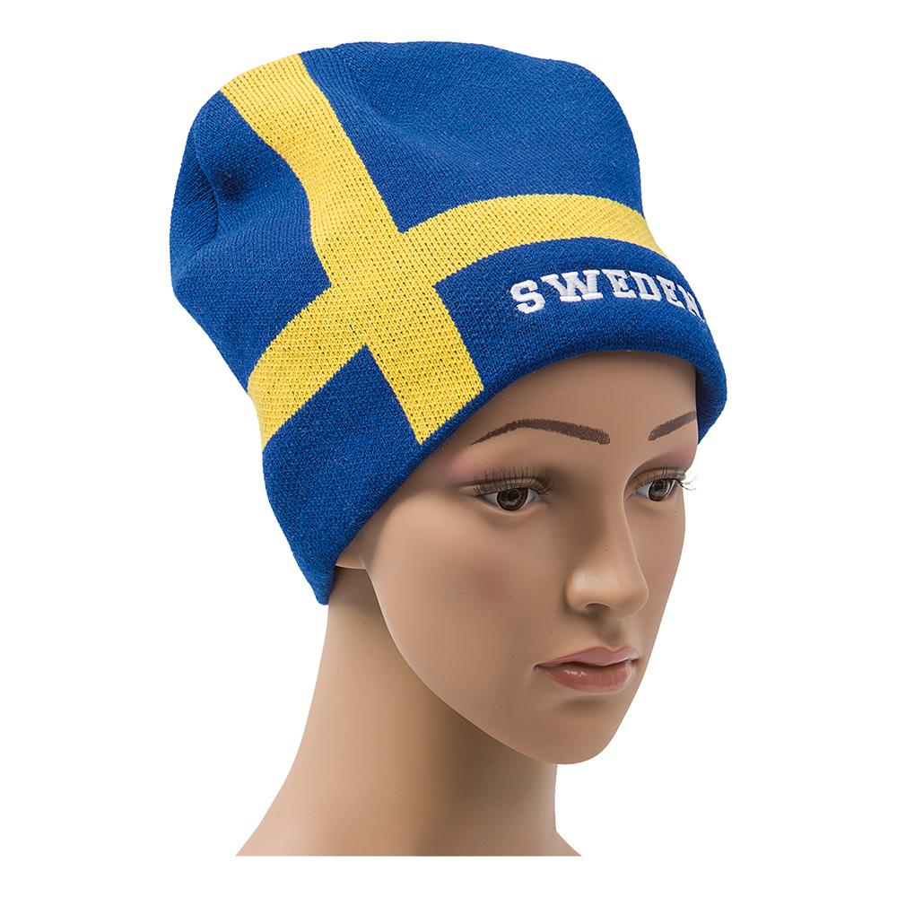 Stickad Flaggmössa Sverige thumbnail