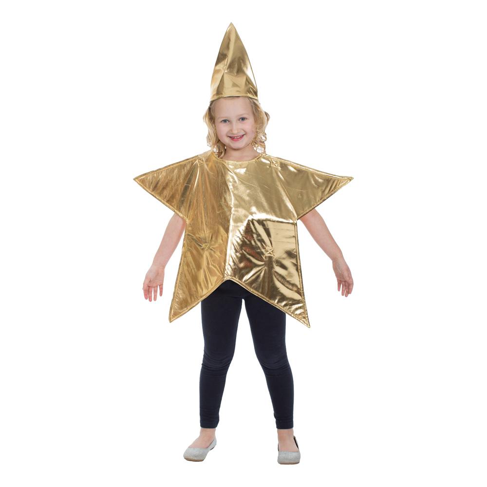 Stjärna Barn Maskeraddräkt - One size