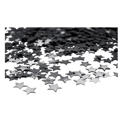 Stjärnkonfetti Svart