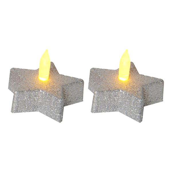 Stjärnljus Silver LED